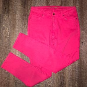 kate spade Jeans Broome Street Hot Pink Play Hooky